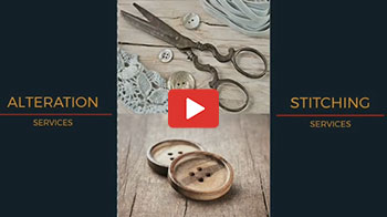 Alteration & Stitching Service Available in Our Store
